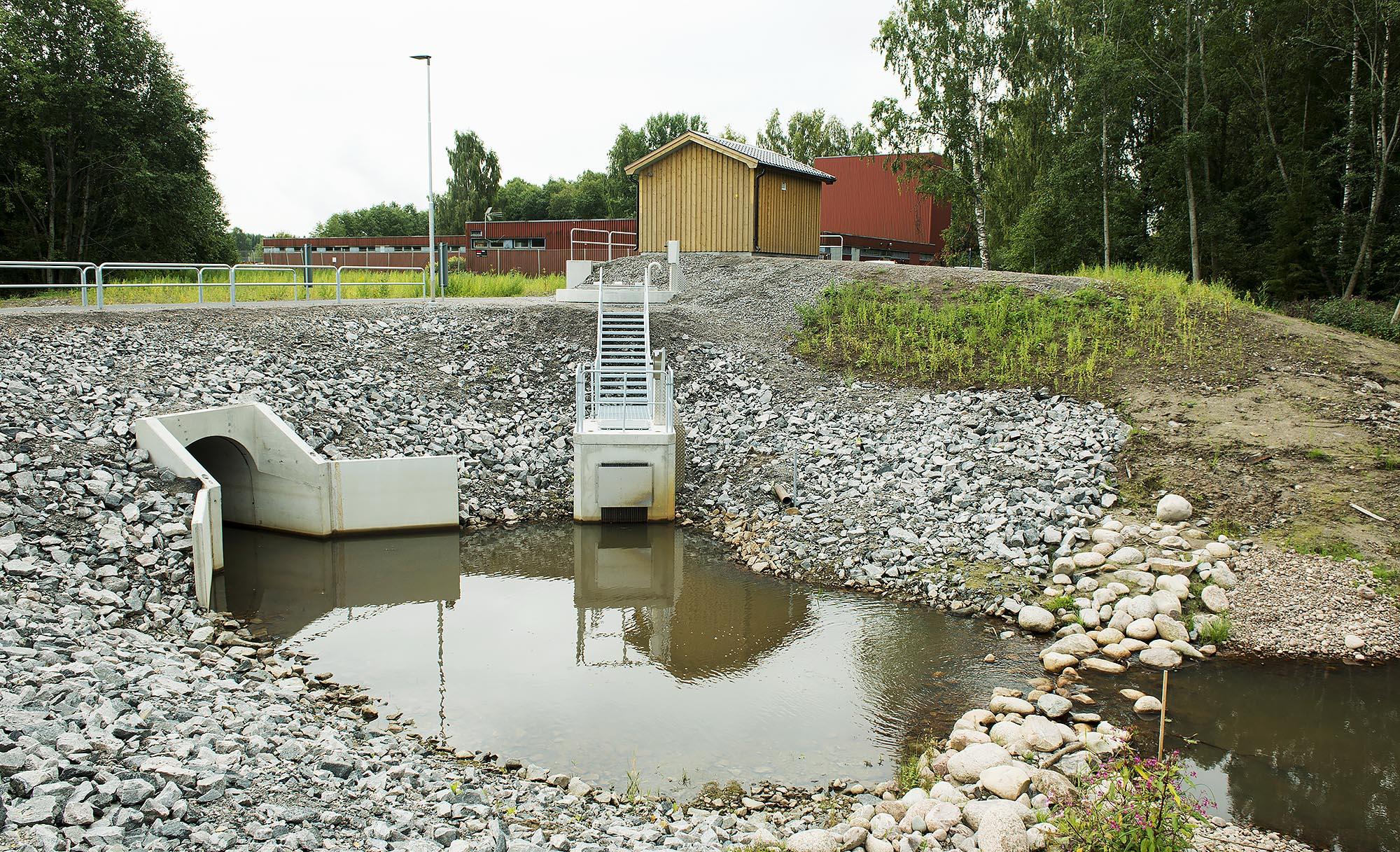 Avloppspumpstation från Rostfria VA-System i Gölingstorp i Tranemo kommun.