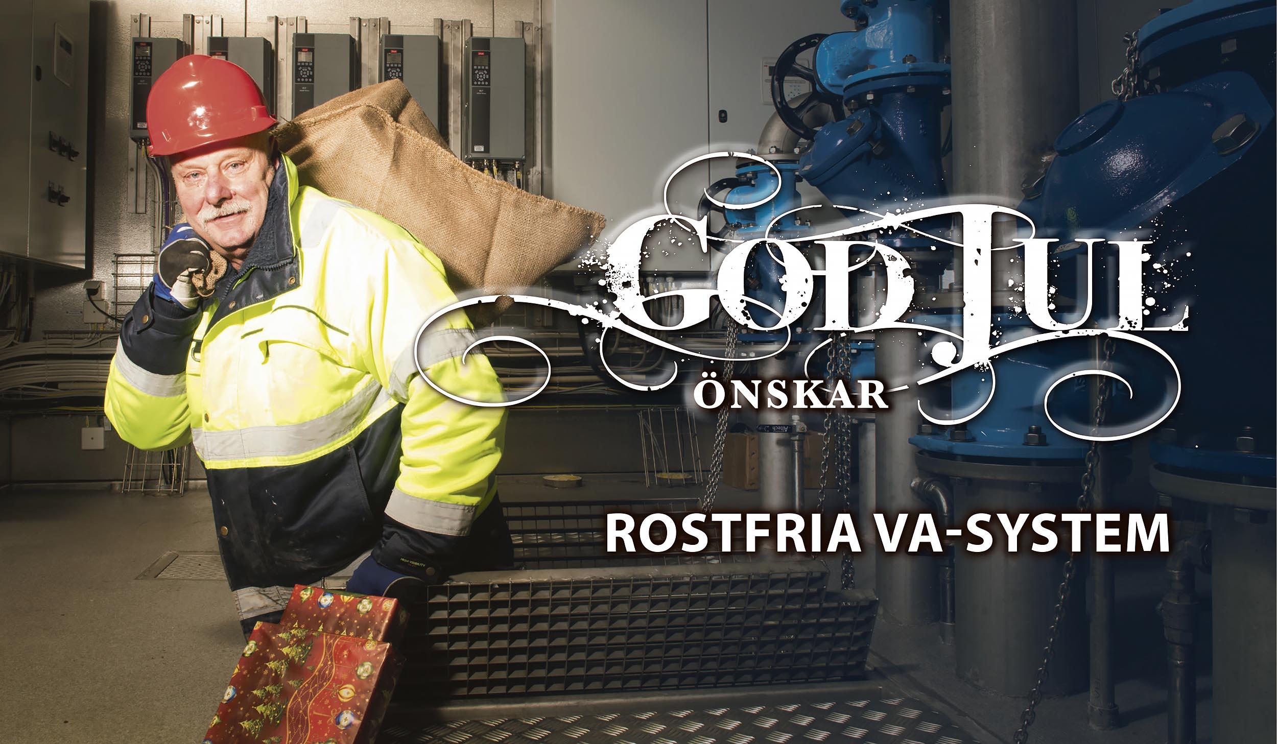 God Jul från Rostfria VA System